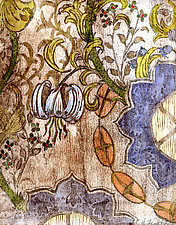 Sarabande Botanica by Ouida  Touchon (Woodcut Print)
