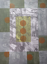Intentional by Faith Wilson (Painted Floorcloth)