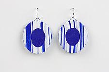 Lily Earring by Klara Borbas (Polymer Clay Earrings)