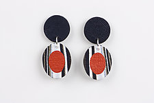 Erika Earring by Klara Borbas (Polymer Clay Earrings)