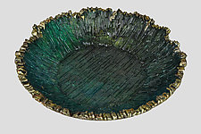 Sea Amenome by Mira Woodworth (Art Glass Bowl)