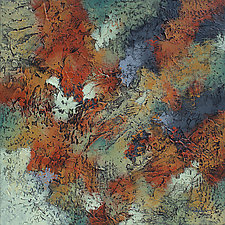 Autumn Canopy by Nancy Eckels (Acrylic Painting)