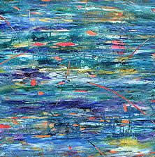 Aquifer Strata X by Stephen Yates (Acrylic Painting)