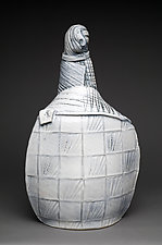 Gothamite II by Ted Sutherland (Ceramic Sculpture)