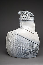 Gothamite I by Ted Sutherland (Ceramic Sculpture)