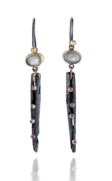 Bejeweled Magpie Dangles
