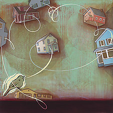 Patterns of Migration by Jacqui Larsen (Giclee Print)