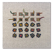 Earth Series No. 15 by Laurie dill-Kocher (Fiber Wall Art)