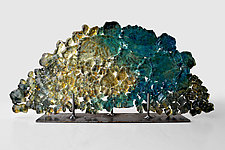 Dreamscape 60 by Mira Woodworth (Art Glass Sculpture)