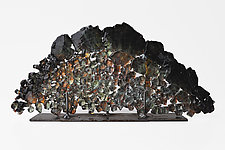 Dreamscape 62 by Mira Woodworth (Art Glass Sculpture)