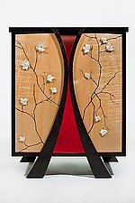 Shinto: Emperor & His Queen by Kate Swann (Wood Cabinet)