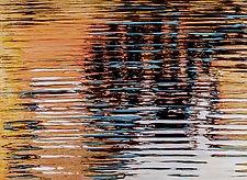 Ripple Geometry #1 by Jan Fordyce (Oil Painting)