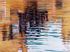 Ripple Geometry #2 by Jan Fordyce (Oil Painting)