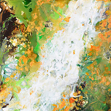 Falls II by Stephen Yates (Acrylic Painting)