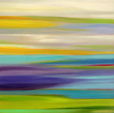 Striations #6 by Mary Johnston (Oil Painting)