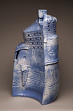 Mountaintop Castle by Ted Sutherland (Ceramic Sculpture)