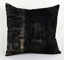 Wood Water 1 by Ayn Hanna (Cotton & Linen Pillow)