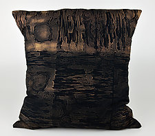 Wood Water 2 by Ayn Hanna (Cotton & Linen Pillow)