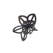 Anise Origami Ring by Karin Jacobson (Silver Ring)