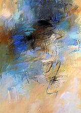 Blue Space #2 by Debora  Stewart (Acrylic Painting)