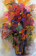 Le Grande Bouquet by Debora  Stewart (Pastel Painting)