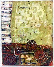 Gears by Barbara Gilhooly (Acrylic Painting)