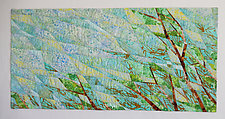 West Wind by Linda Beach (Fiber Wall Hanging)