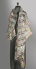 Double Stripes Wrap by Uosis Juodvalkis  and Jacquie Rice  (Cashmere & Silk Wrap)