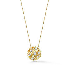 Cono Burst Pendant by Dana Melnick (Gold & Stone Necklace)