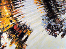 Ripple #2 by Jan Fordyce (Oil Painting)