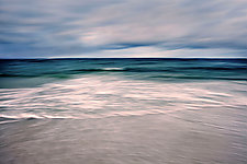 Stormy Sea by Richard Speedy (Color Photograph)