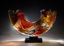 Memory by Caleb Nichols (Art Glass Sculpture)
