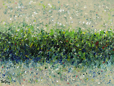 Hedgerow by Lynne Taetzsch (Acrylic Painting)