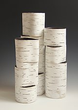Hinged Group by Lenore Lampi (Ceramic Vase)