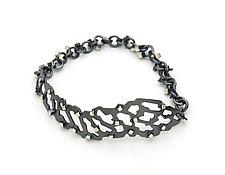 Shattered Cube Bracelet by Joanna Nealey (Silver Bracelet)
