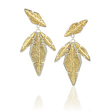 Descent Earrings by Amanda Hagerman (Gold & Silver Earrings)