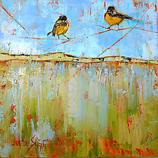 First Flight by Janice Sugg (Oil Painting)