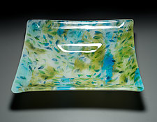 Floating Leaves Bowl by Martha Pfanschmidt (Art Glass Bowl)