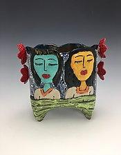 Las Tias by Lilia Venier (Ceramic Vase)