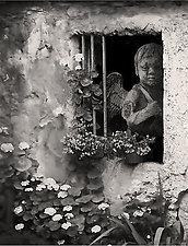 Spirit of Zadar by Jim Bremer (Black & White Photograph)