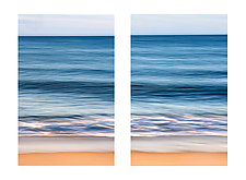 Montauk Diptych by Richard Speedy (Color Photograph)