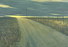 New Road by Mary Jo Van Dell (Oil Painting)