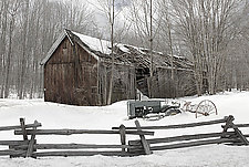 Timberland Barn by Jim Bremer (Color Photograph)