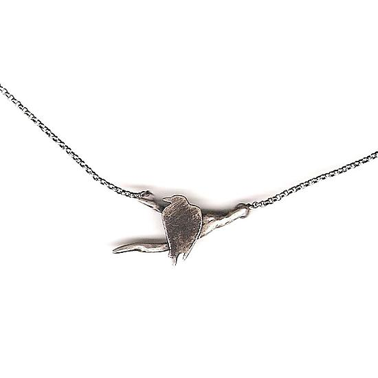 Raven Branch Necklace