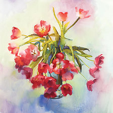 Tulip Fling by Cathy Locke (Giclee Print)