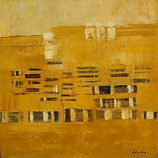 Pueblos by Lela Kay (Oil Painting)