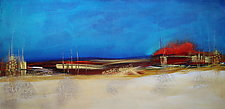 By the Pier by Nicholas Foschi (Acrylic Painting)