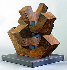8-Up by Jan Hoy (Ceramic Sculpture)
