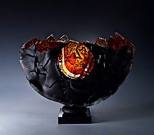 Horizon by Caleb Nichols (Art Glass Sculpture)
