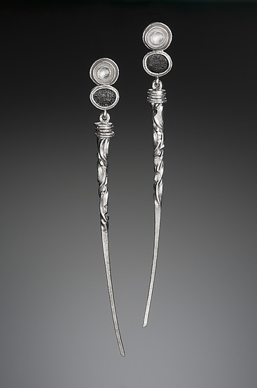 Long Taper Earrings
